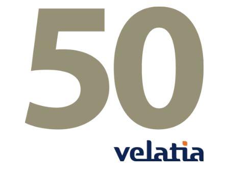 Velatia cumple 50 años