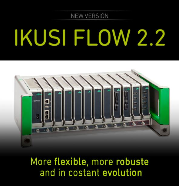 Ikusi presents the New Ikusi Flow Firmware Version