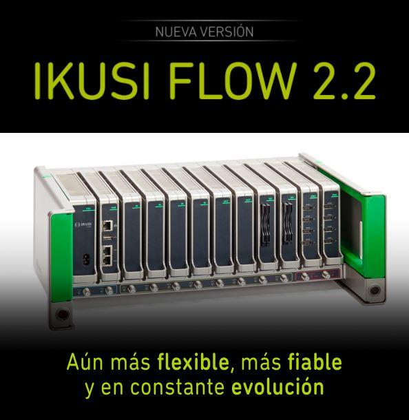 Ikusi presenta la nueva versión del firmware de Ikusi Flow