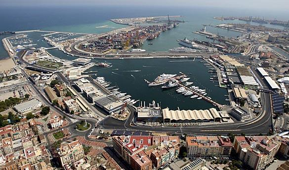 Circuito Urbano F1 de Valencia