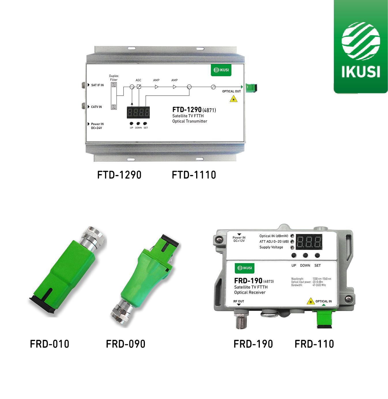 Ikusi Multimedia presenta su nueva gama de transmisores y receptores ópticos