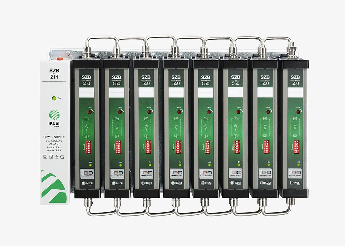 Amplificador monocanal ágil, tecnología de vanguardia
