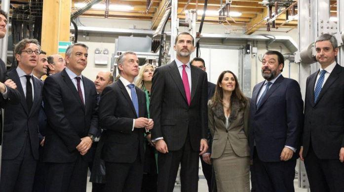 El Rey Felipe VI asiste a la celebración del 50º aniversario de Velatia