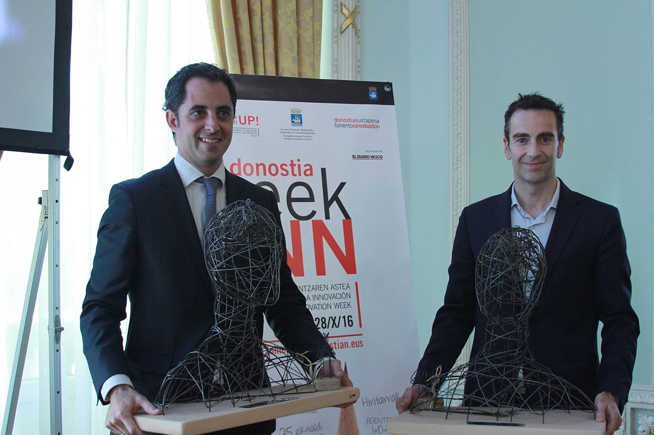 Ikusi y Nem Solution reciben los premios de la Semana de la Innovación (El Diario Vasco)